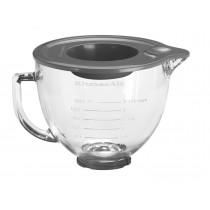 KitchenAid Klar-Glasschüssel mit Deckel 5KSM5GB