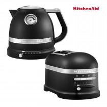 KitchenAid Artisan Wasserkocher + Toaster Gusseisen schwarz