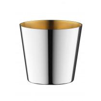 Robbe & Berking Dante Rum- und Destillatebecher 90g versilbert innen vergoldet
