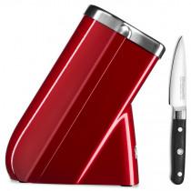 KitchenAid Messerblock + gratis Messer liebesapfelrot