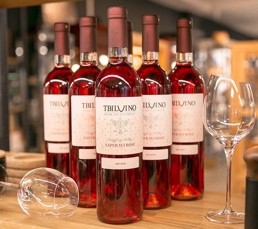 Saperavi - Georgischer Rosé zum Vorteilspreis