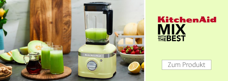 KitchenAid Standmixer, Powerblender und Zubehör