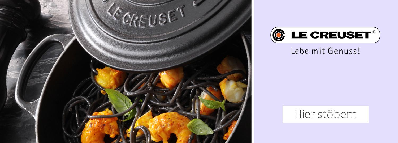 Le Creuset - Bräter und Gusseisen Kochgeschirr