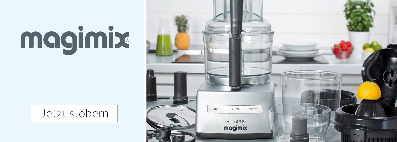 Magimix Küchenmaschinen, Zubehör und Magimix Entsafter
