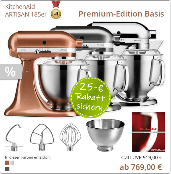 KitchenAid Premium Edition mit 5KSM185PS