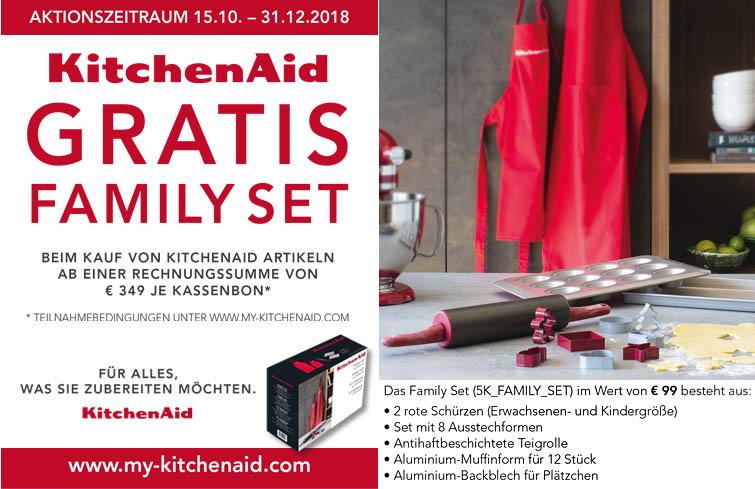 KitchenAid - Family-Aktion in Rostock