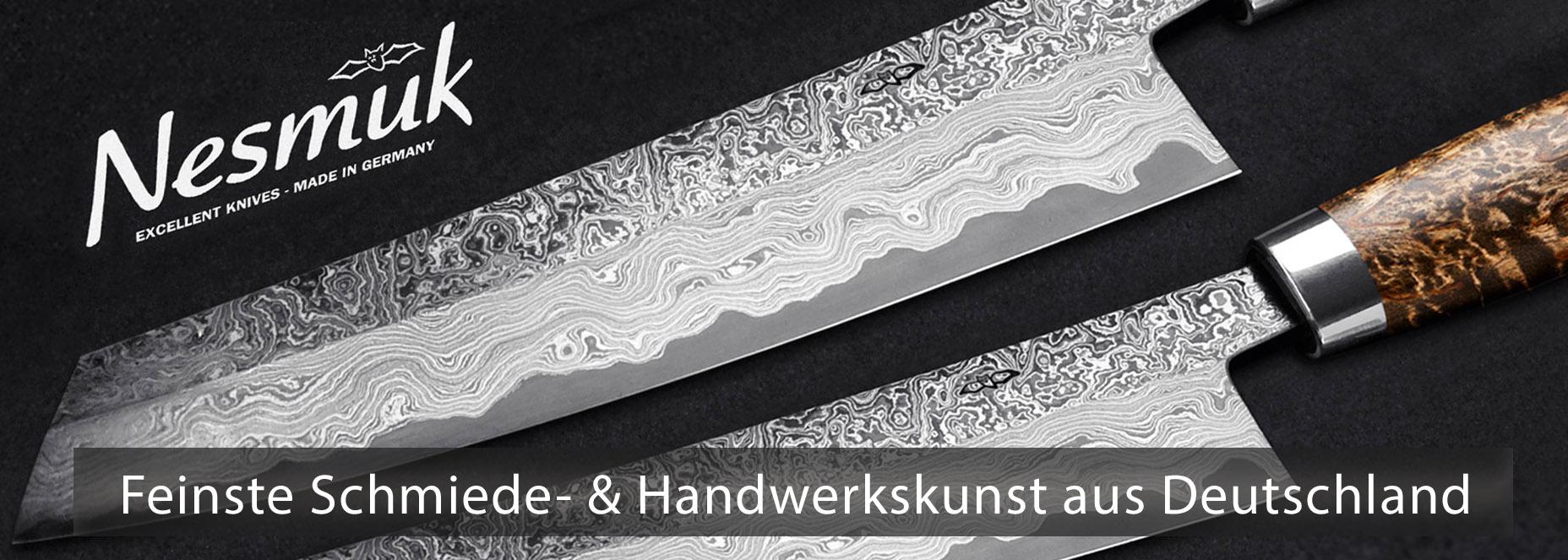 Küchenmesser aus der Nesmuk Manufaktur in Solingen