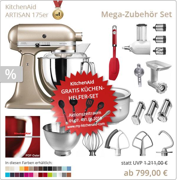 KitchenAid Mega-Sparpaket - Allrounder für Ihre Rezept-Ideen