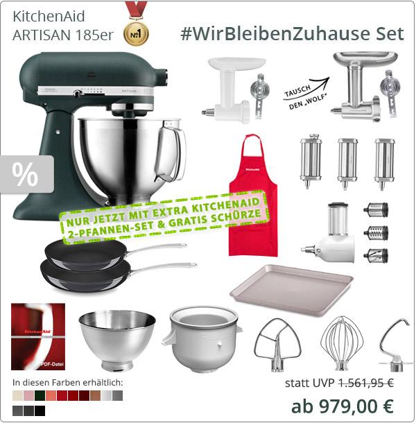 KitchenAid Artisan 5KSM185PS XXL-Paket