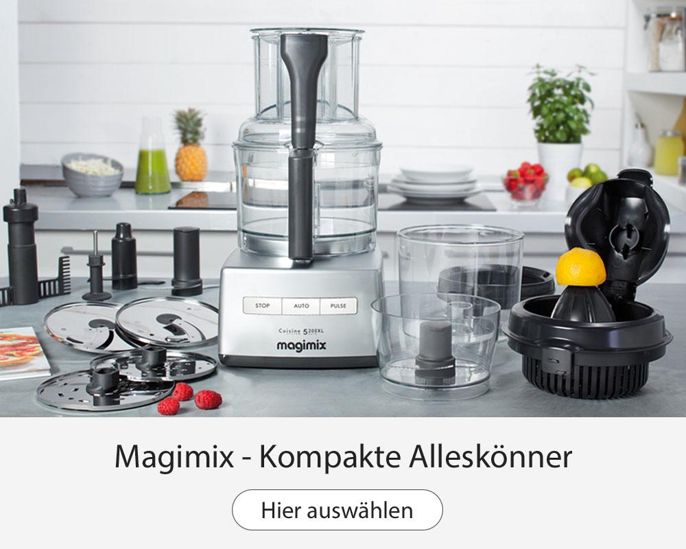 Magimix 5200XL Küchenmaschine und Foodprocessor
