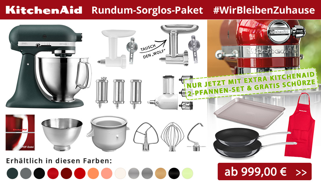 KitchenAid Rundum-Sorglos-Paket