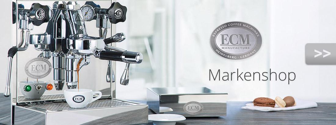 ECM Siebträger und Kaffeeezubereiter von Moccamaster, Quickmill und Sage beim Fachhändler in Rostock