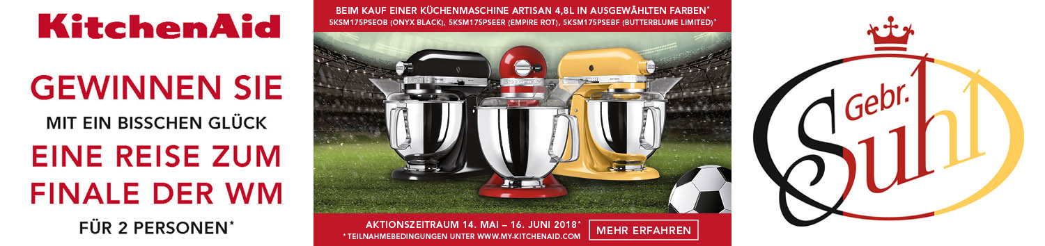 KitchenAid WM-Aktion