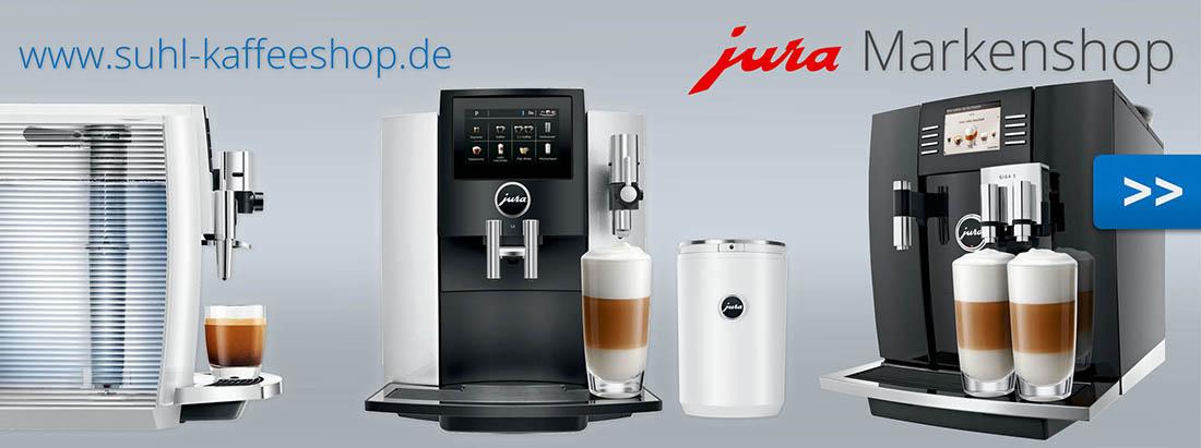 Der JURA Markenshop in Rostock - Kaffeevollautomaten bei www.suhl-Kaffeeshop.de