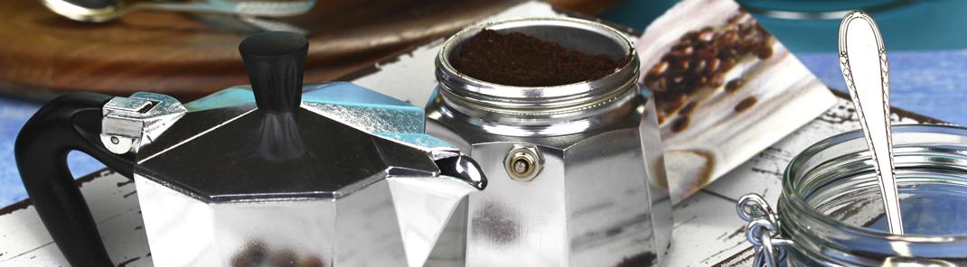Kaffeemaschinen und Kaffee online kaufen